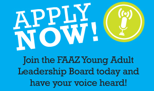 Apply Now and join the Young Adult Leadership Board